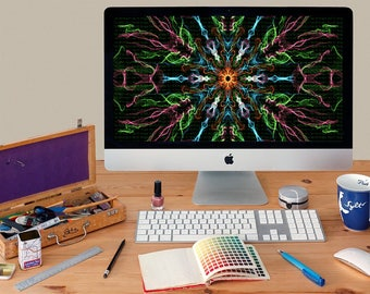 light color smoke screen desktop wallpaper