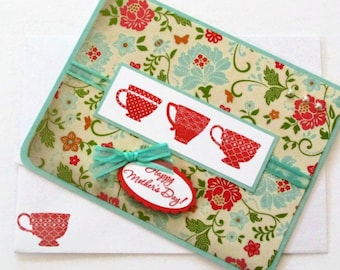 Tea Cup Mother's Day Card
