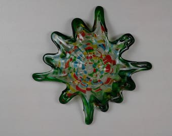 SOLD...Way Quintessential Mid Century Modern Murano Art Glass Bowl