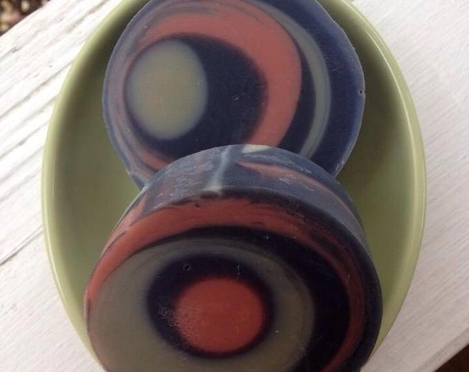 Eucalyptus spearmint tea tree charcoal & clay soap