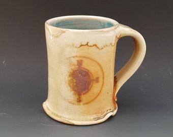 Woodfired Compass Rose Wander Mug/Cup