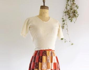 60s Wool Sweater Short Sleeve Sweater Off White Wool Underwear Wool Undershirt S