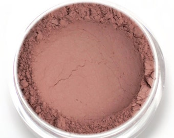"Matte Nude Pink Eyeshadow - ""Harmony"" - Vegan Mineral Makeup"