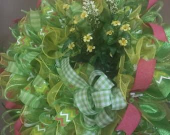 Floral wreath   FREE  SHIPPING