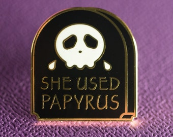 R.I.Papyrus - Lapel Pin