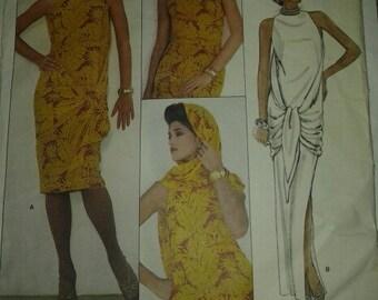 Vintage, Vogue American Designer Customized Dress Pattern for an Adele Simpson Dress