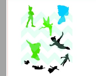 Peter Pan Magic Band Decal