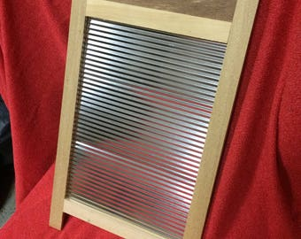 Washboard = Magnetic Message Board