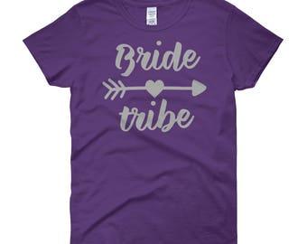 Bride Tribe Grey Women's short sleeve t-shirt