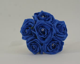Wedding Posy - Perfect for Bridesmaids ( Sapphire )