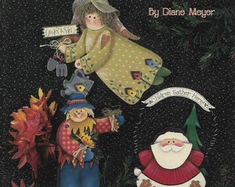 Diane's Season Sampler by Diane Meyer Tole Painting Book