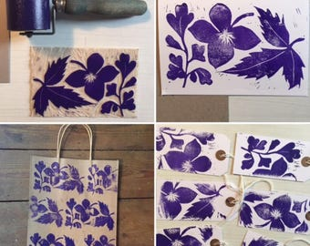 JUNE WORKSHOP: Learn Printmaking- Easy Lino Workshop at Hitchin Lavender Farm - Choose a date in June 2018