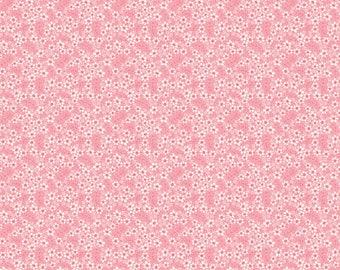 Tiny Petals Pink 03-2 by Blend Fabrics Cotton Fabric Yardage
