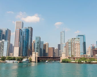 View of Chicago from Lake Michigan