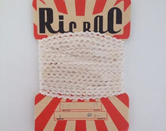 Vintage ric tac // retro packaging journal sewing scrapbook assemblage 1970s 1960s UK seller