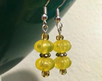 Double Lemon Drop Earrings
