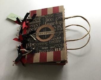 Receipe Book - Bag Album
