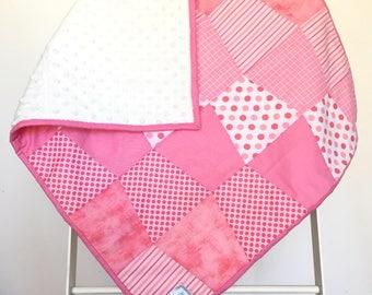 Pink Tumbler Quilt