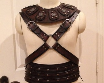 Leather Barbarian Armor Custom