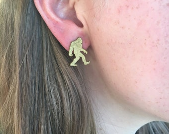 Sasquatch Earrings