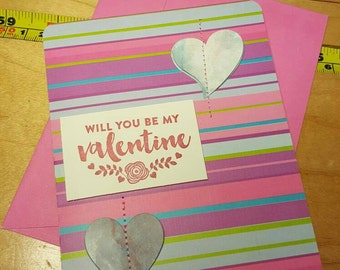 "Valentine's Day card with envelope 4"" x 6"""