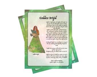 2 Pages For Your BOS ~Goddess Brigid Bundle~Grimoire