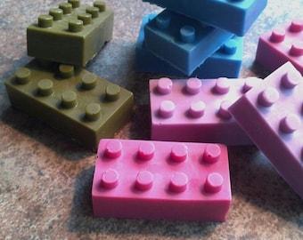 TWENTY Lego Block Type Soap