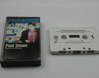 Paul Simon Hearts and Bones Cassette tape