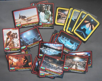 Close Encounters of the Third Kind movie trading cards plus wrappers Columbia Pictures 1978