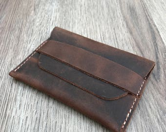 Coin Purse Wallet, Personalized Leather Wallet, Mens Leather Wallet, Womens Leather Wallet, Perfect Gift Idea