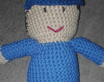 Crochet doll - little boy or girl - custom made