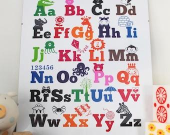 Aloha Baby ABC poster
