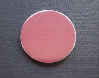 Solid Color Pin-Back Button-2.25 Inch