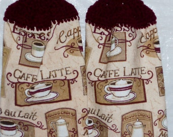 Coffee Shop Kitchen Towels