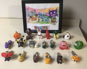 On Sale Pipes for Month of April! Select from Photos, While Supplies Last! Pokemon Mario Cats