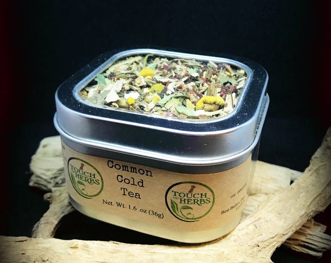 Flu gift . sick friend gift . cold and flu season . get well care package . get well gift . herbal tea . medicated teas . loose leaf tea .