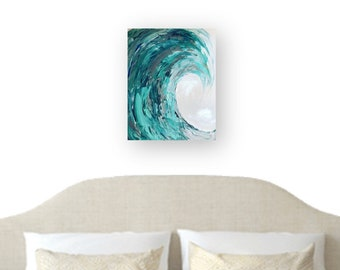 Playful Wave in acrylic