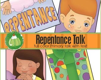 REPENTANCE Primary Talk - Downloadable File