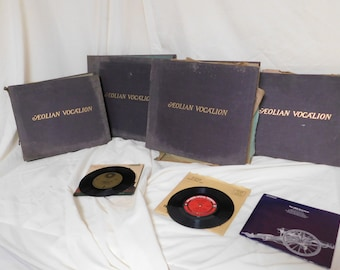 Over 100 year old RCA Victor Talking Company records