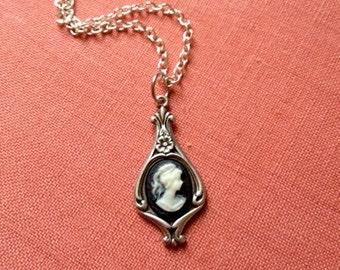 Art Nouveau Cameo Necklace