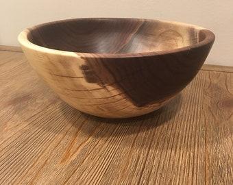 walnut wood bowl