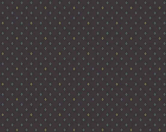 Lampblack - Diamonds Blue 8480K1 - 1/2yd