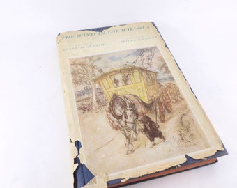 The Wind and the Willows Hardcover Book Written by Kenneth Grahame Illustrated by Arthur Rackham 1940