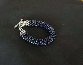 Bead Crochet Rope Bracelet