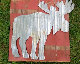 Tin Moose cut out
