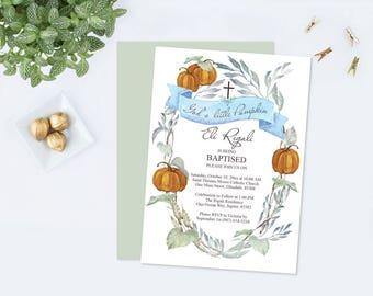 pumpkin invitations template