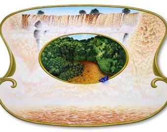Iguazu Vibrating at Maximum - Poster