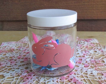 Bunny Jar | Vintage Rabbit Decor