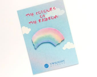 Rainbow Sticky Notepad - Post Its Sticky Notes