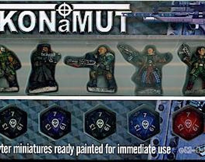 Glory Seekers - Mercenaries Miniatures Set (5) Solid Pewter, Fully Painted - 40412 - Crystal Caste